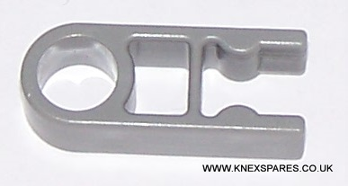 K'NEX Connector 1-way Dark Grey