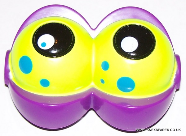 KID K'NEX Double eyes purple/yellow