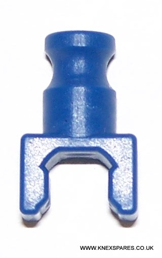 K'NEX Clip with rod end Blue