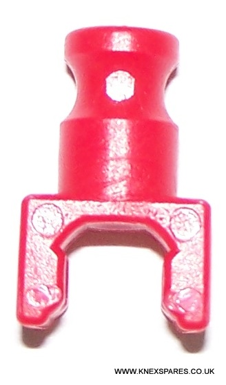 K'NEX Clip with rod end Red