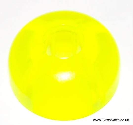 K'NEX Man Headtop Translucent yellow