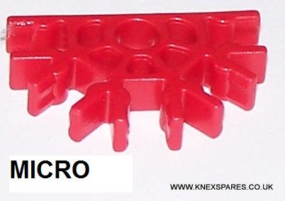 MICRO K'NEX Connector 5-way Red