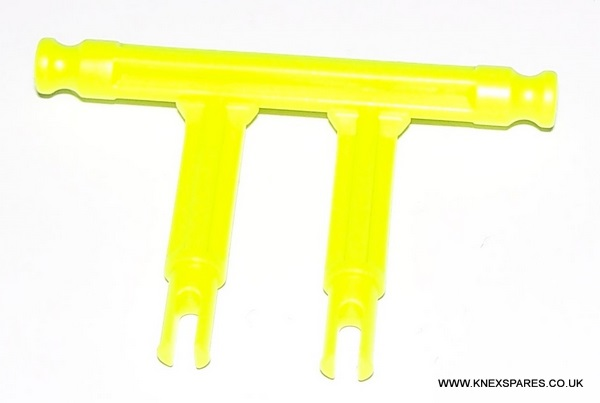 K'NEX Brick Adapter 2-leg Yellow
