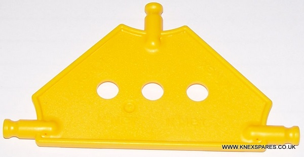 K'NEX Tri Panel small Yellow - Click Image to Close