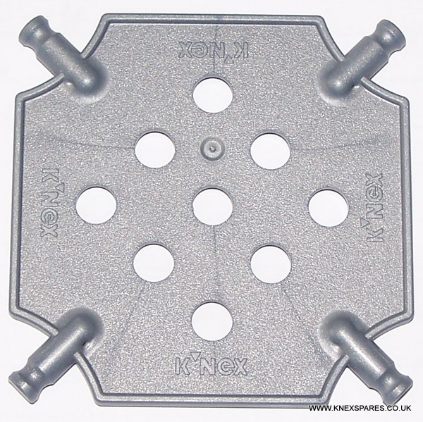 K'NEX Square Panel small Silver - Click Image to Close