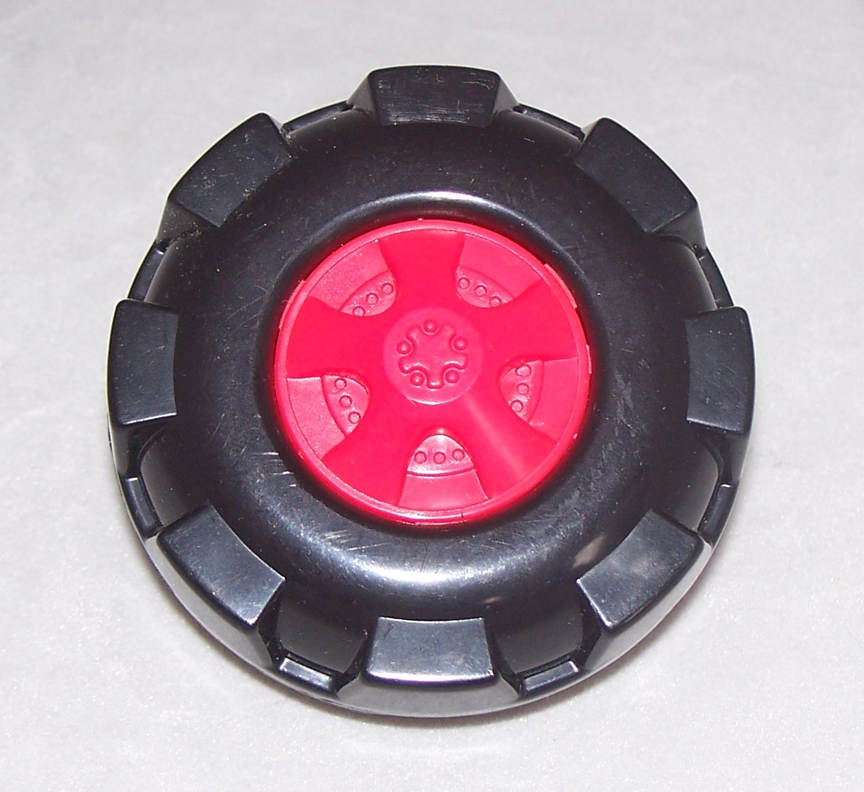 Kid K'NEX Wheel Medium Red