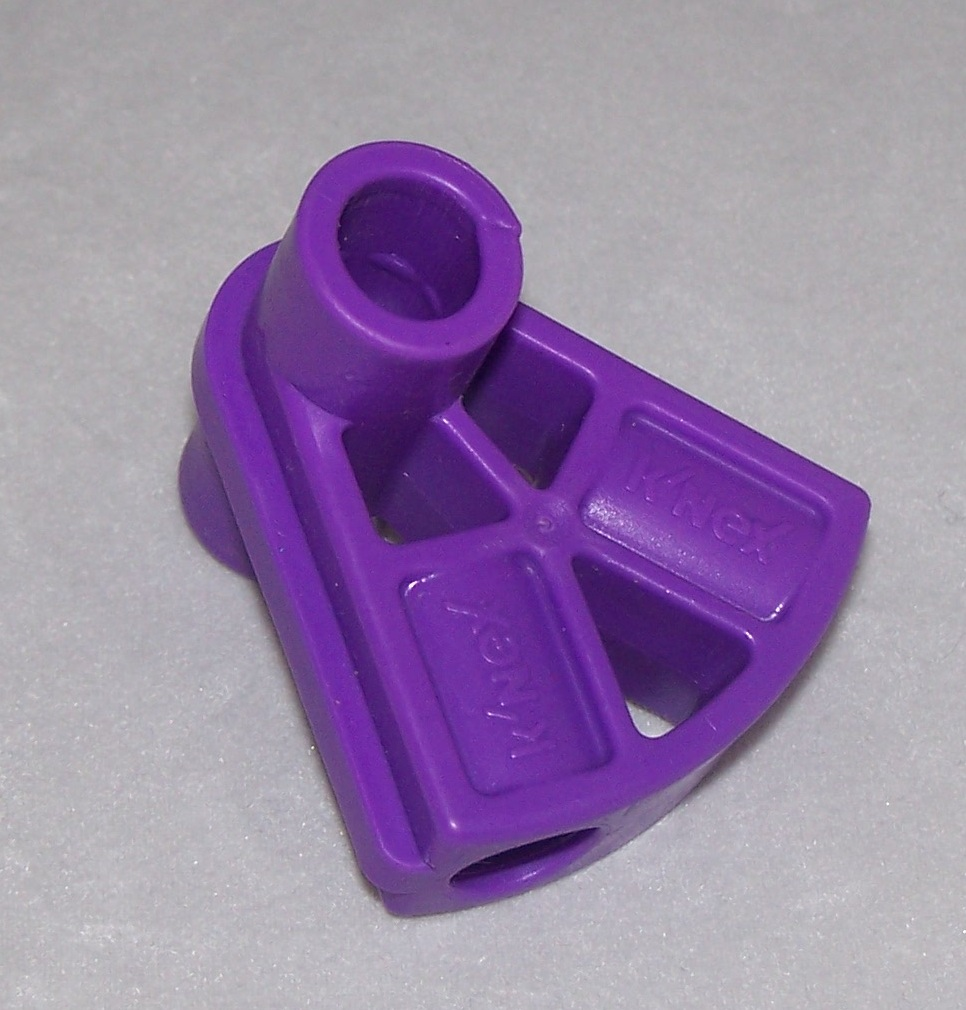 Kid K'NEX Connector Pivot 2 way Purple