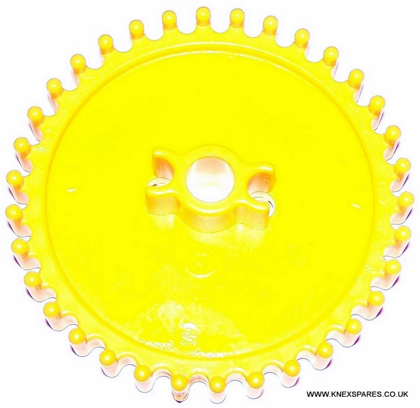 K'NEX Crown gear medium Yellow