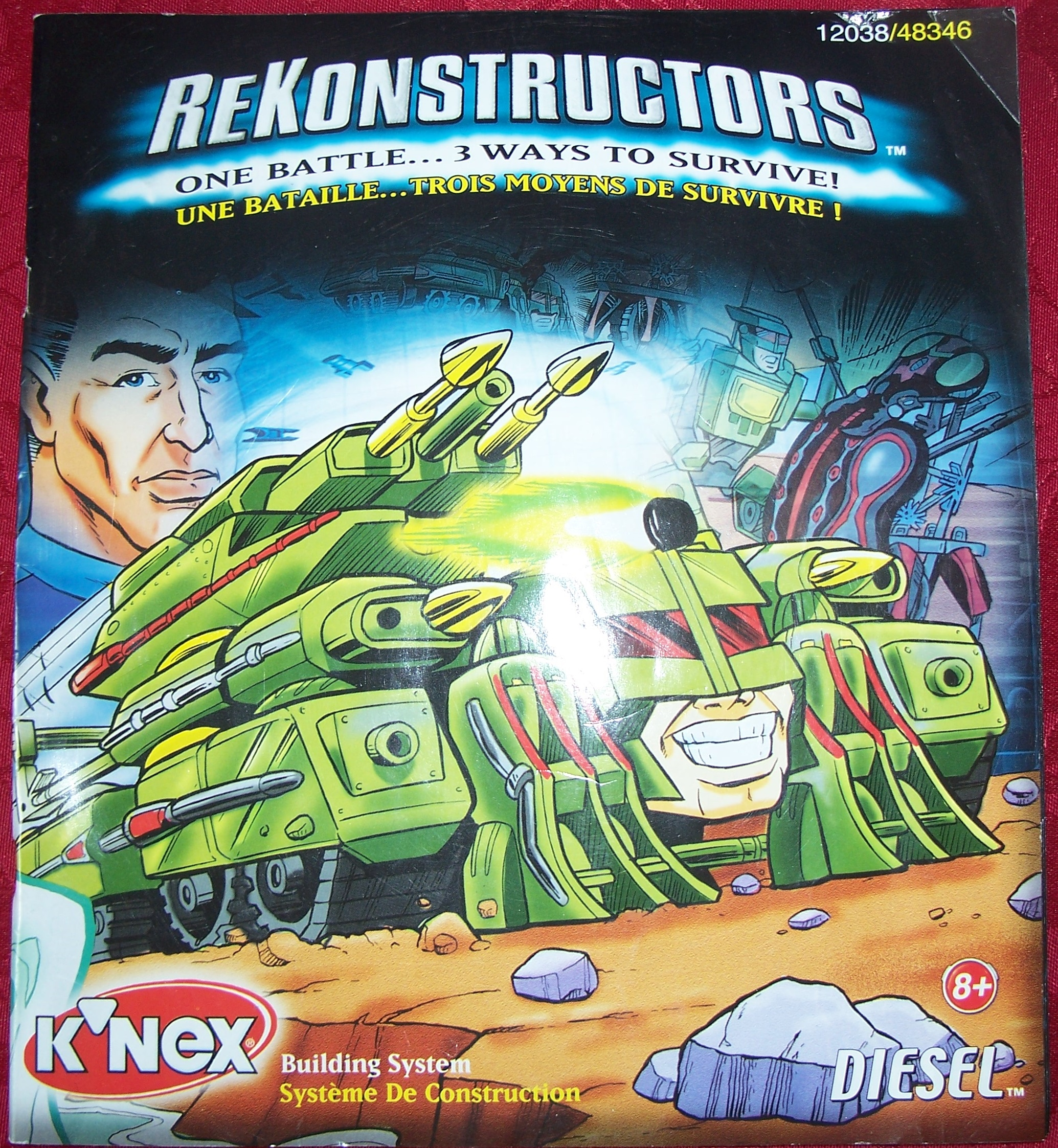 Instruction Book ReKonstructors DIESEL 12038/48346