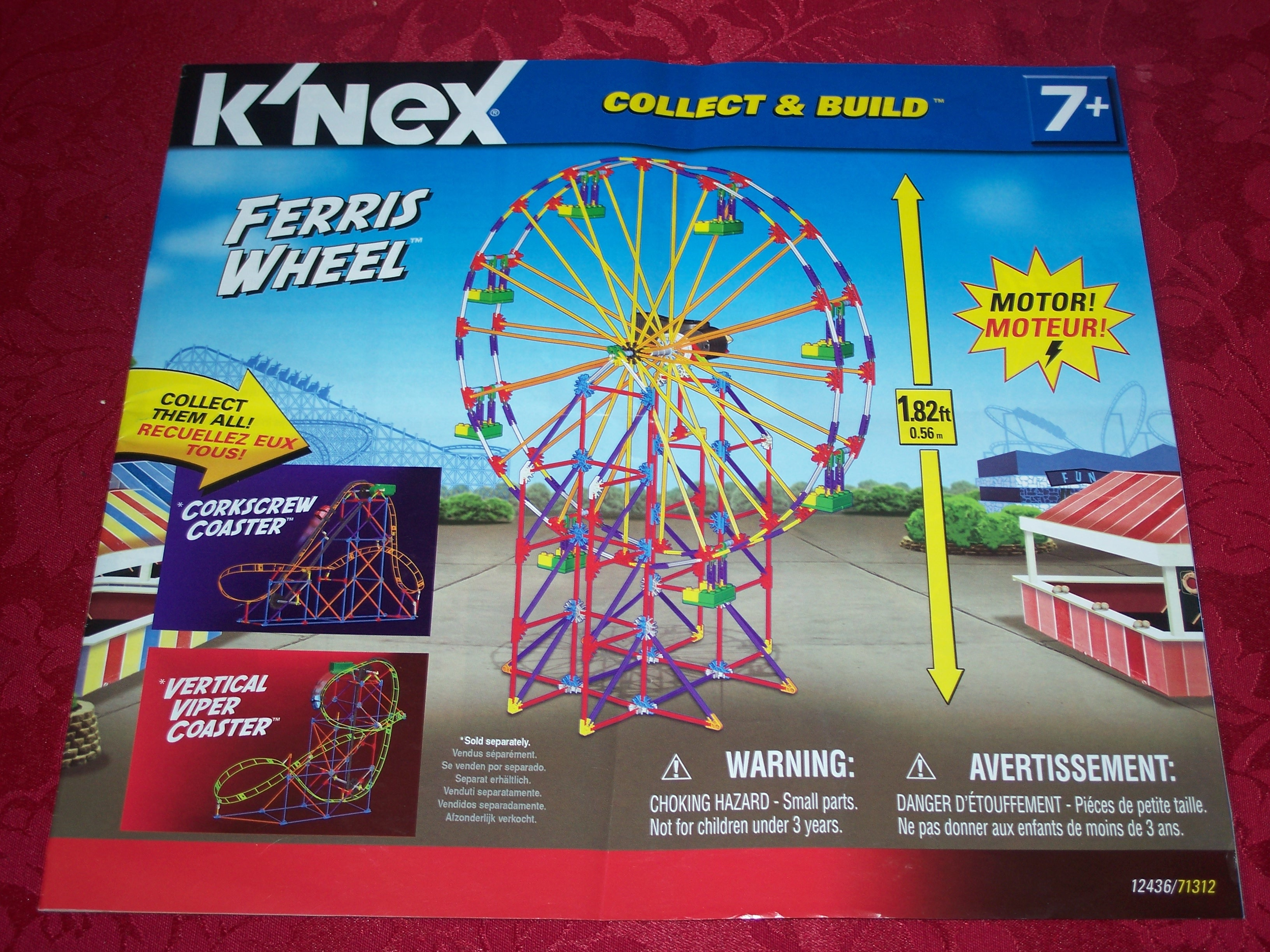 Instruction Book Collect & Build Ferris Wheel 12436/71312
