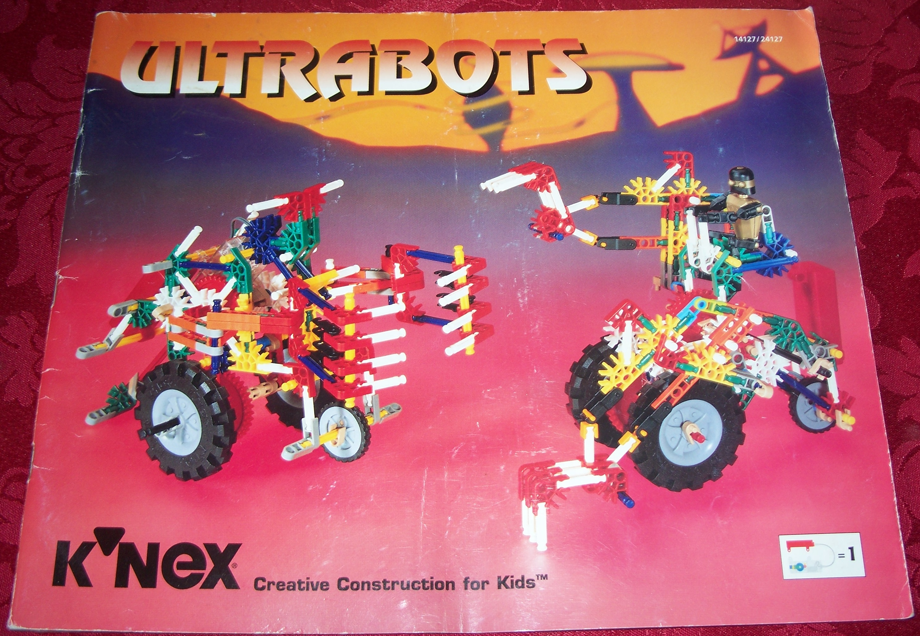 Instruction Book Ultrabots 14127/24127