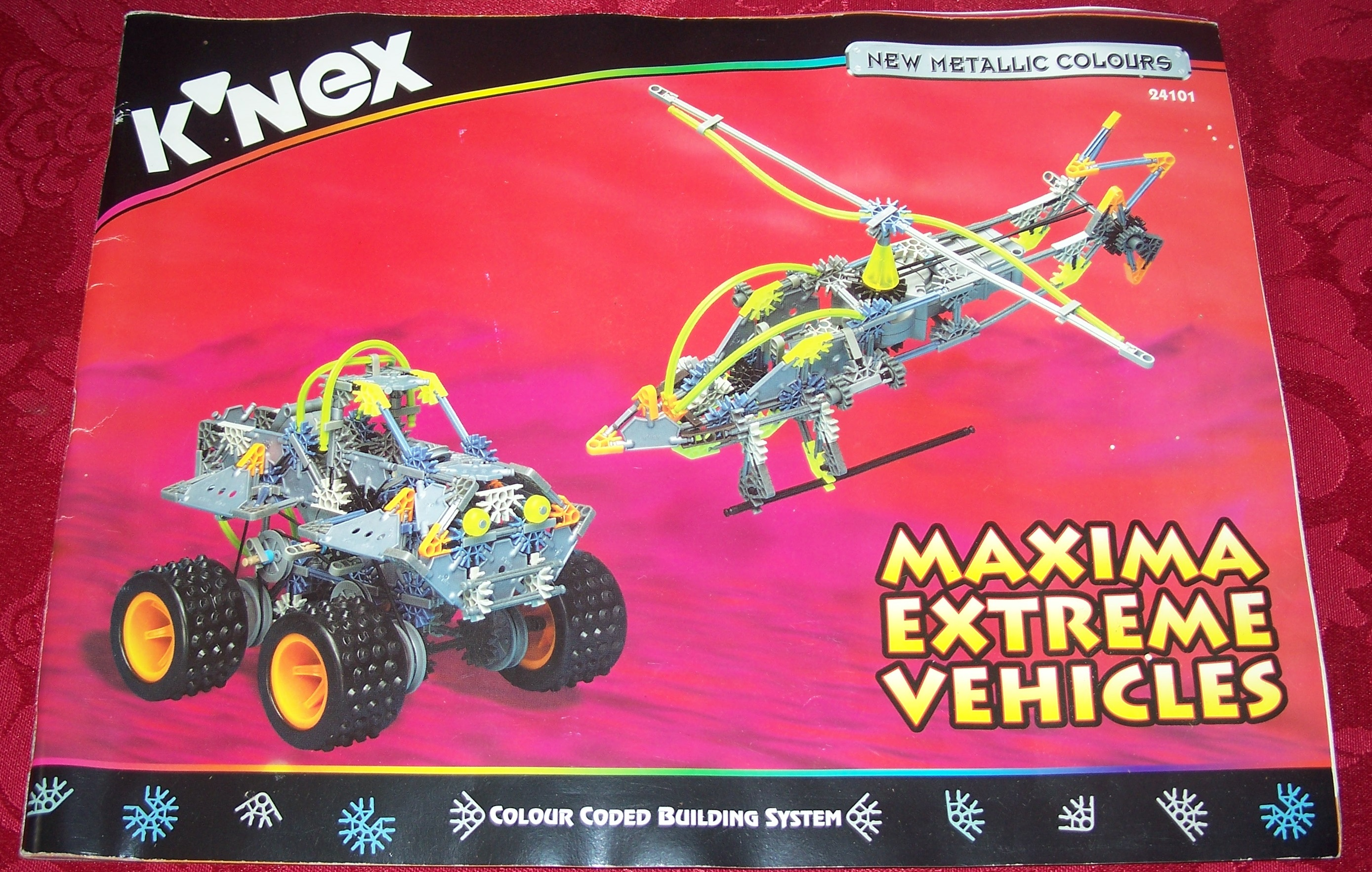 Instruction Book Maxima Extreame Vehicles 24101