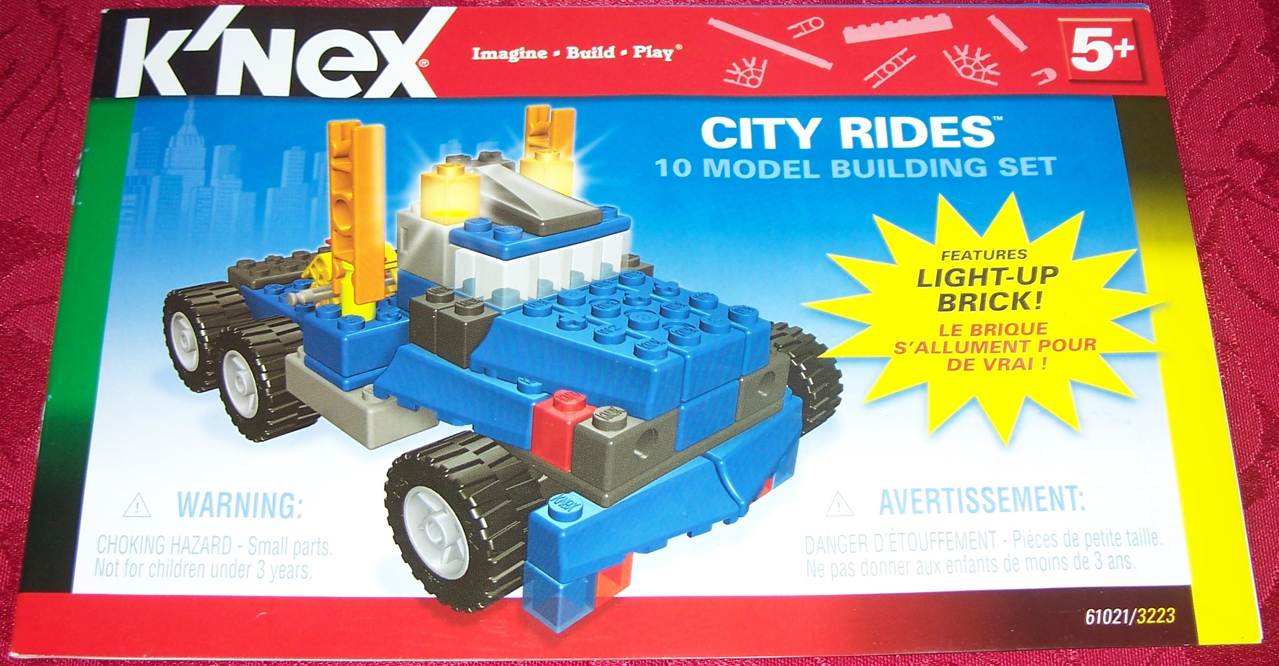Instruction Book City rides 61021/3223