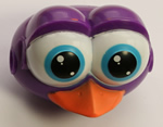 Kid K'NEX Chicken head PURPLE/WHITE