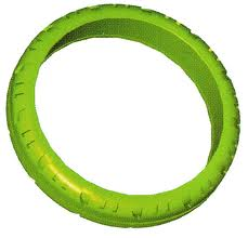 K'NEX Motorcycle Tyre Green