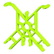 K'NEX Co-cross tie Light green