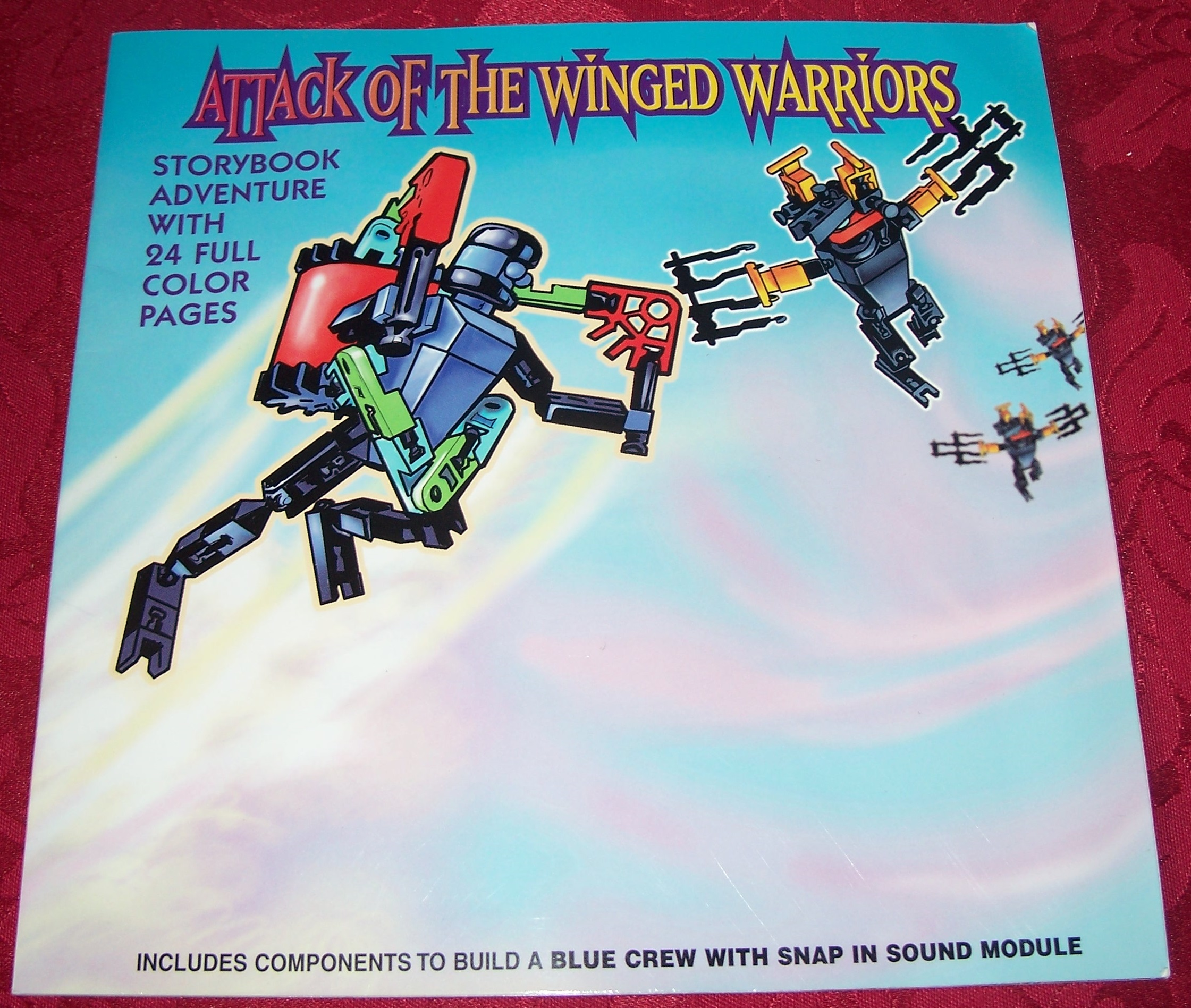 Instruction Book Winged Warriors